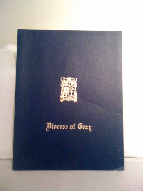 Diploma Cover: Diocese  of Gary