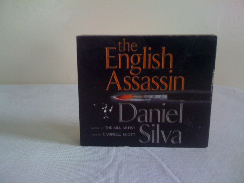 Novel On CD: The English Assassin by Daniel Silva